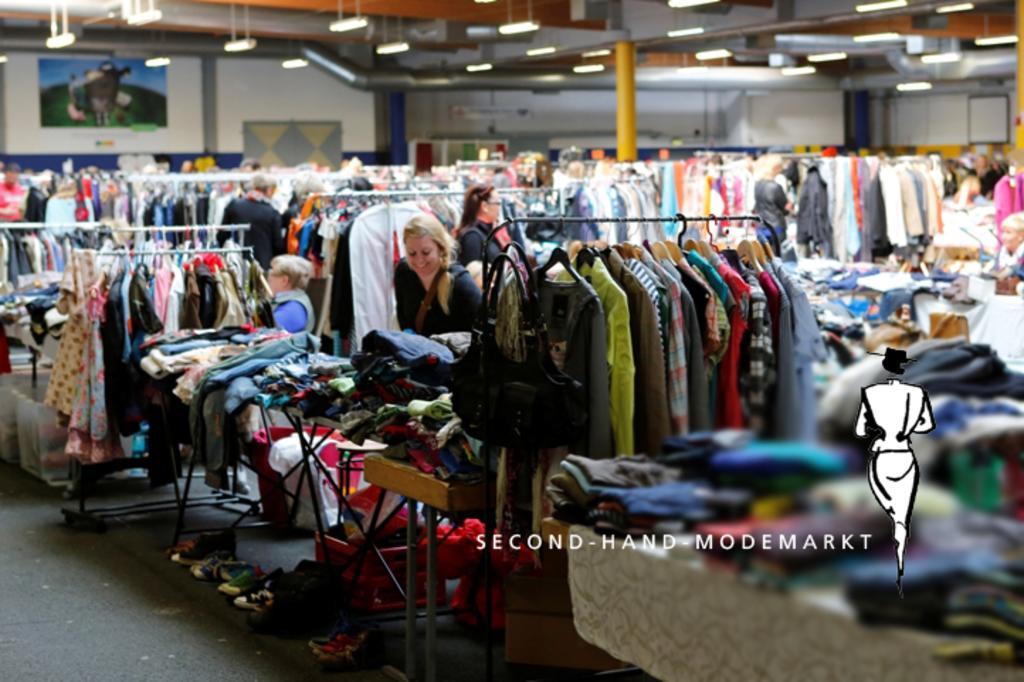 Bild zur Veranstaltung Abgesagt: Second-Hand-Modemarkt